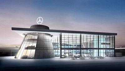 das neue mercedes benz museum stuttgart. Black Bedroom Furniture Sets. Home Design Ideas